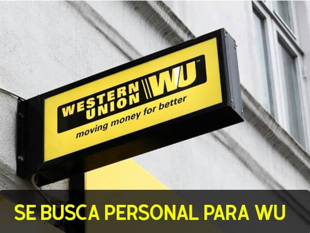Empleos en Wester Union
